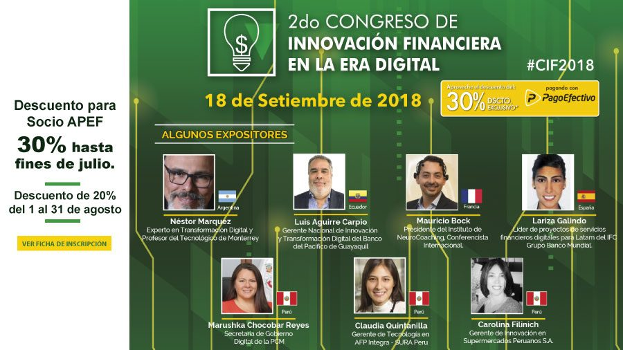 2do Congreso Innovación Financiera en la Era Digital