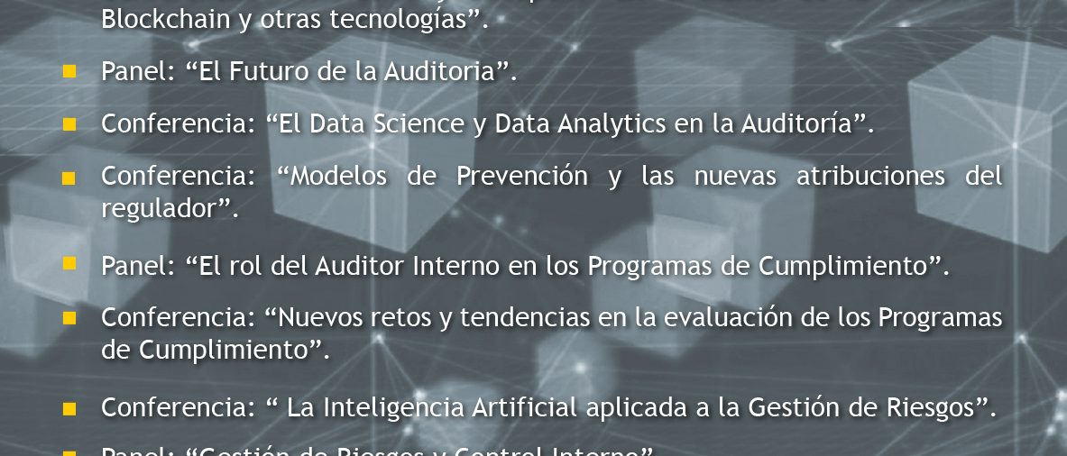 1er Congreso de Auditoria Financiera y Compliance
